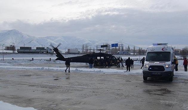 Bitlis'te askerlerin üzerine çığ düştü: 5 şehit