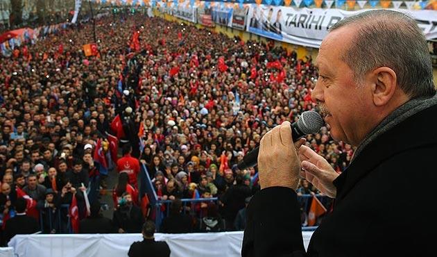 Erdoğan'dan Zeytin Dalı Harekatı'nın süresi hakkında açıklama