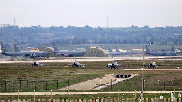 İncirlik'te Türk savaş uçakları hazır bekliyor