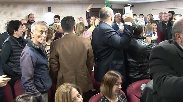 KKTC meclisinde 'Zeytin Dalı' gerginliği