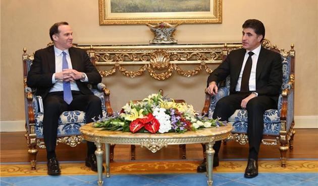 ABD'li heyetten Erbil ziyareti