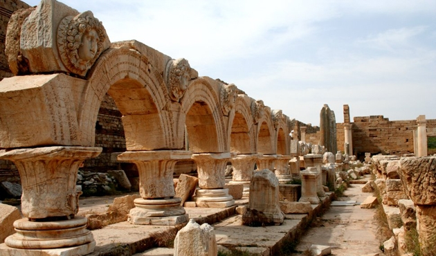 Libya'da Antik Roma kenti Leptis Magna, ihmal kurbanı