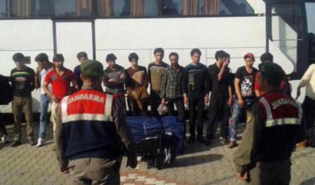 Edirne'de 161 kaçak yakalandı