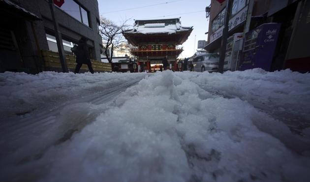 Japonya'daki kar fırtınası: 3 ölü