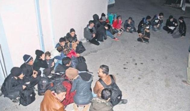 Edirne'de 316 kaçak ve sığınmacı yakalandı