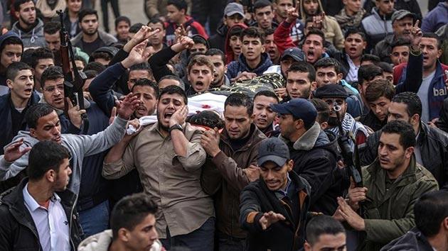 İsrail şehit olan Filistinlilerin naaşlarını vermeyecek