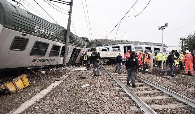 İtalya'da tren kazası: Ölü ve yaralılar var