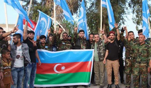 Türkmen 'Akıncı'lar Afrin için hazır kıta