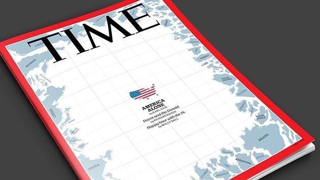 Time dergisi ABD'nin yalnızlığını kapak yaptı