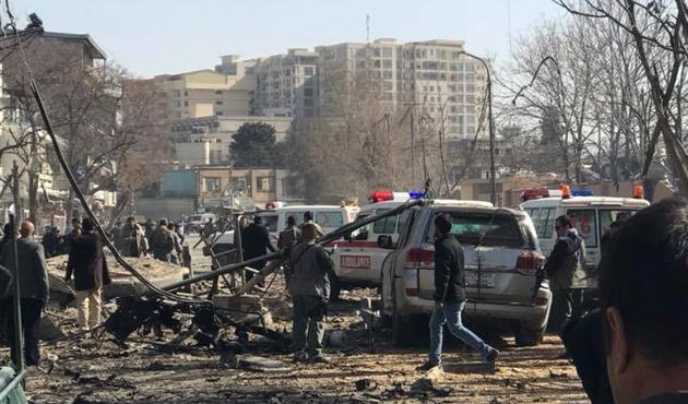 Kabil'de bombalı saldırı, 40 ölü