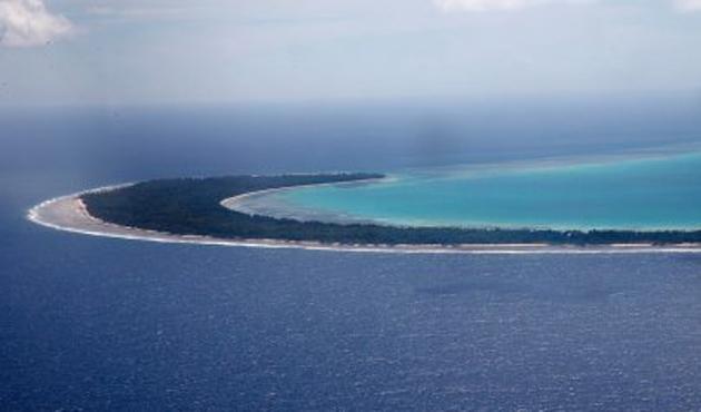 Kiribati açıklarında feribot kayboldu