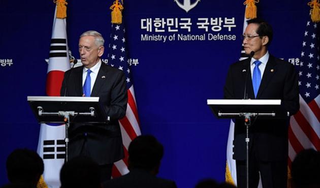 ABD ve Güney Kore'den Kuzey Kore'ye karşı birlik sözü