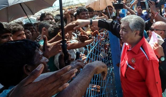 Endonezya'nın Arakanlı Müslümanlara desteği  sürecek