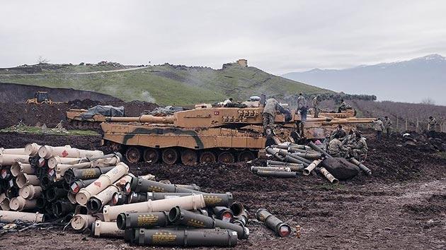 Stratejik Burseya Dağı'nda şiddetli çatışmalar başladı