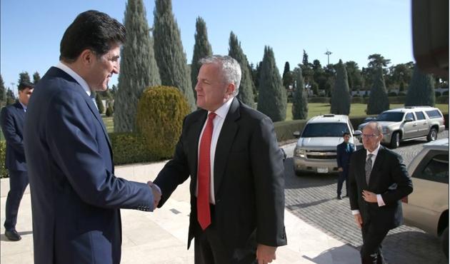 ABD Dışişleri Bakan Yardımcısı Sullivan'ın Irak ziyareti