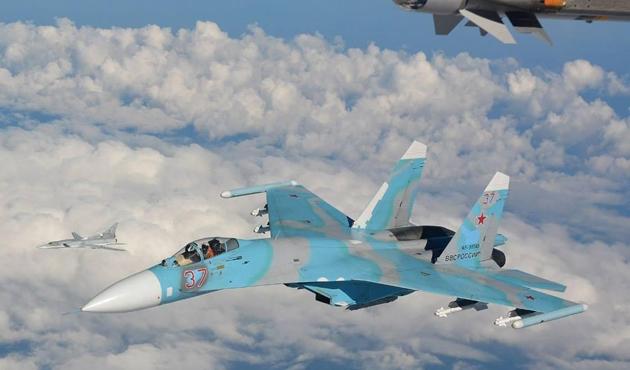 Rus jeti, ABD uçağını Karadeniz'de engelledi