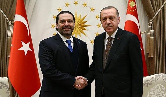 Cumhurbaşkanı Erdoğan, Beştepe'de Hariri'yi kabul etti