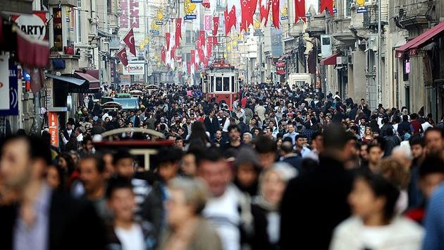 Türkiye'de nüfus 80 milyonu aştı