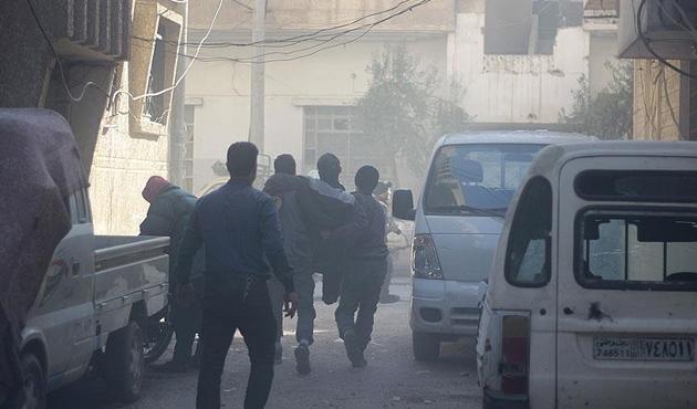 Esad rejimi Doğu Guta'ya klor gazıyla saldırdı