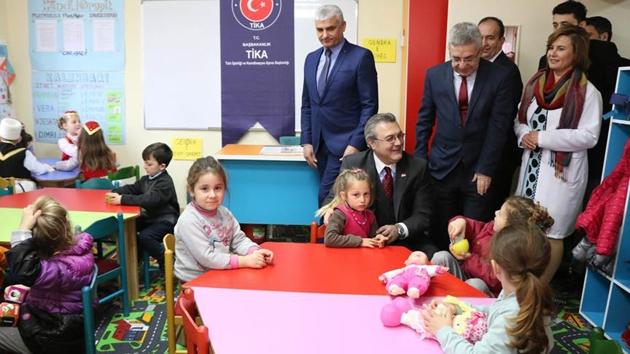 TİKA'dan Arnavutluk'a eğitim desteği