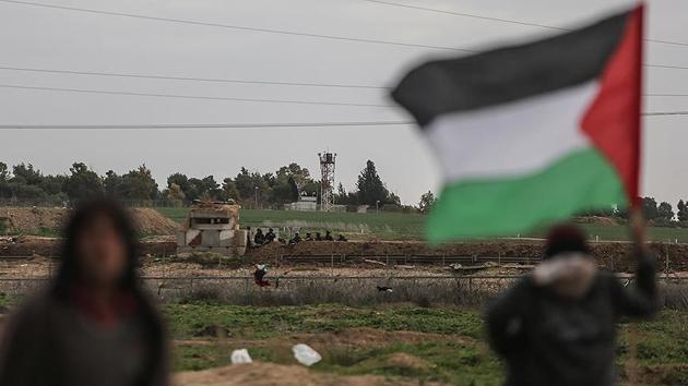 İşgal güçlerinden Filistinli göstericilere müdahale: 42 yaralı