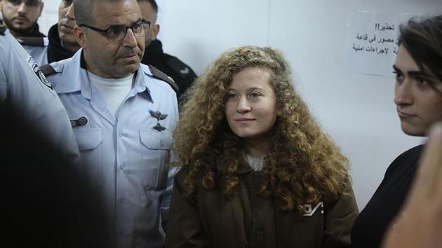 Ahed'in duruşması ailesinin isteğiyle 2'nci kez ertelendi