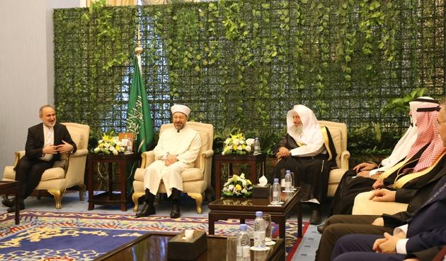 Diyanet İşleri Başkanı Erbaş, Suudi Arabistan'da