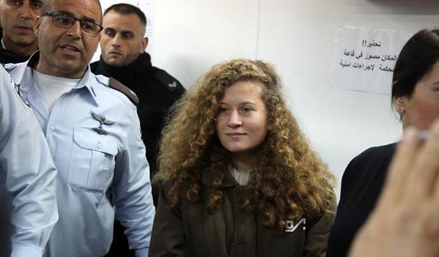 Abbas'tan 'cesur kız' Ahed'e övgü