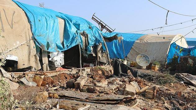 PYD/PKK İdlib'deki sığınmacılara saldırdı