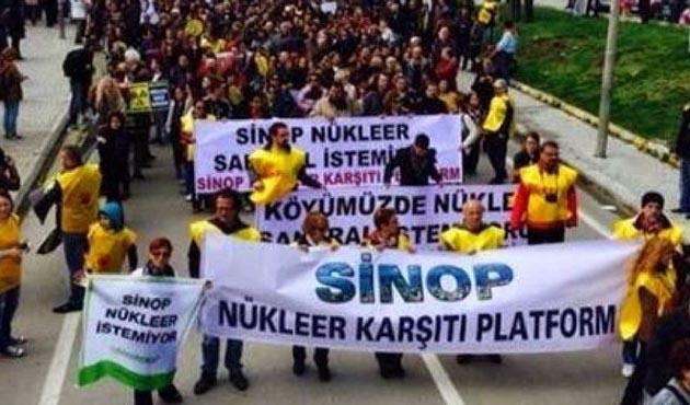 Nükleer Güç Santrali toplantısında gerginlik, 2 gözaltı