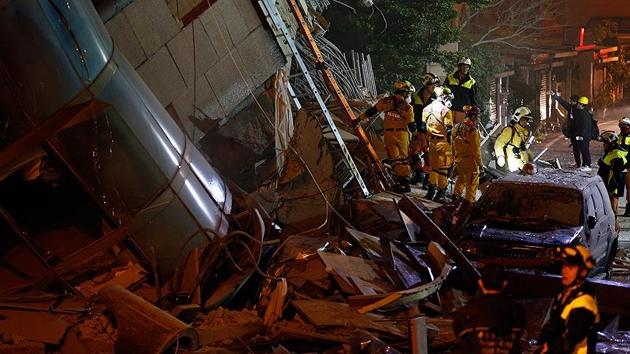 Tayvan'daki büyük depremde ölü sayısı artıyor