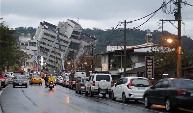 Tayvan'daki depremde ölü sayısı 9'a yükseldi