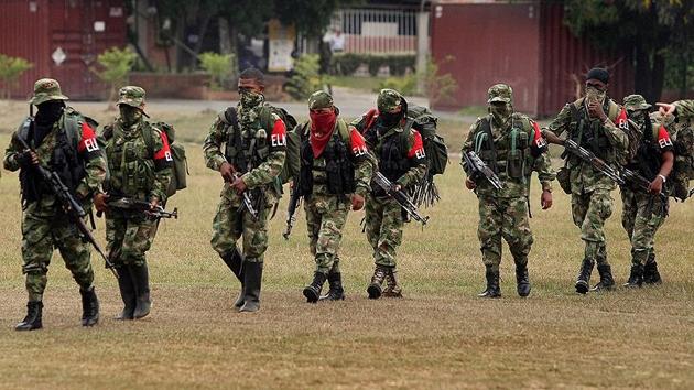 Kolombiya'da ELN'den silahlı eylem tehdidi