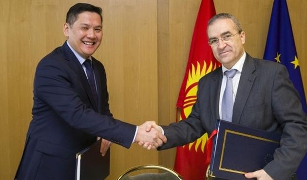 Kırgızistan AB ile ortaklık anlaşması imzaladı