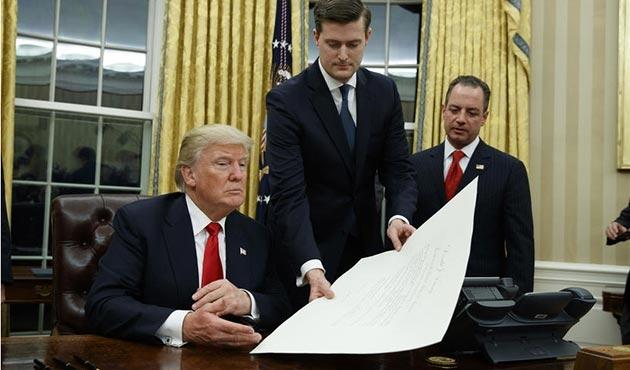 Beyaz Saray'da kıdemli danışman Porter istifa etti