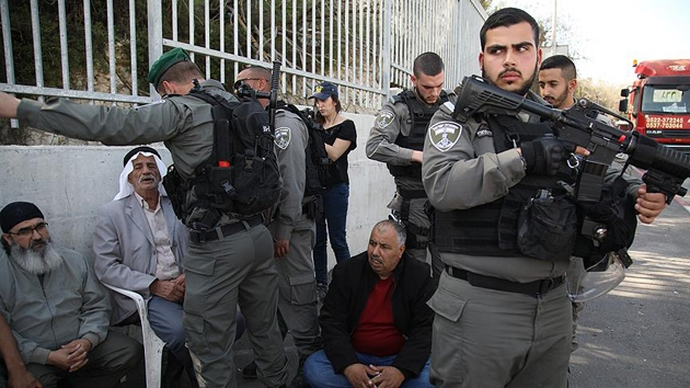 İşgal güçlerinin Filistinli göstericilere müdahalesinde yaralı sayısı 9'a yükseldi