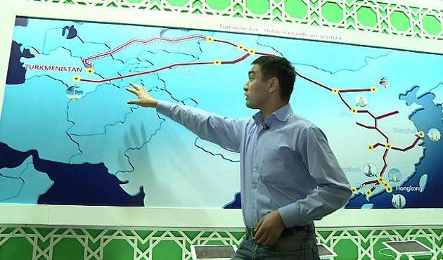 Türkmenistan - Çin arasında ilişkiler gelişiyor