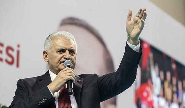Başbakan Yıldırım: Biz Afrin bölgesine savaşmaya gitmedik