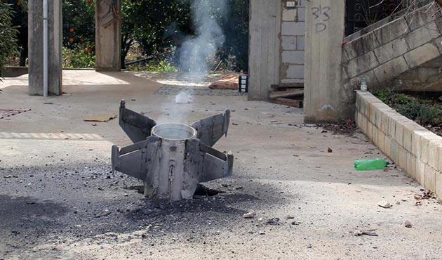 İsrail'in kullandığı roket kalıntıları Lübnan'a düştü