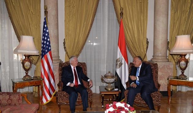 ABD Dışişleri Bakanı Tillerson ilk kez Mısır'da