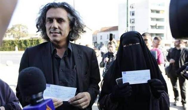 Peçeli kadınları savunan iş adamına Tunus'tan yasak