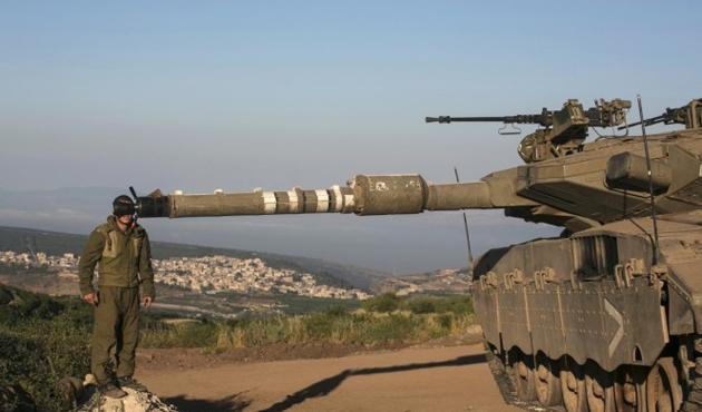 İsrail Gazze'yi tanklarla vuruyor