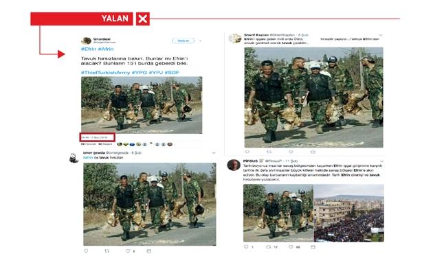 Esad askerlerinin hırsızlığı TSK'ye mal edilmeye çalışıldı