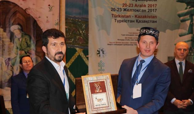 Türkçe'nin 12. Uluslararası Şiir Şöleni'nde ödül Tataristan'ın