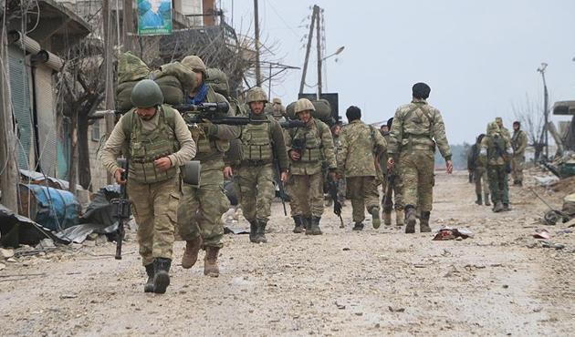 TSK ve ÖSO, Afrin sınırına ulaştı