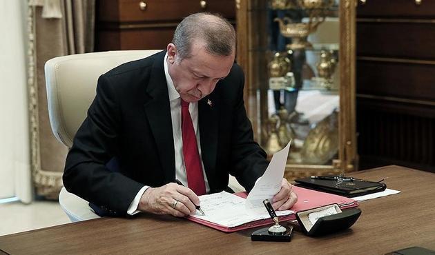 Cumhurbaşkanı Erdoğan'dan 26  kanun onayı