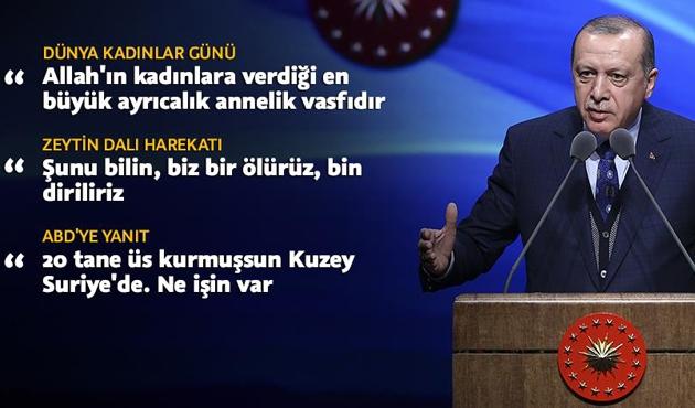 Erdoğan'dan ABD'ye 'Suriye' tepkisi
