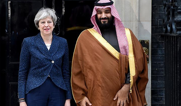 İngiltere ile Suudi Arabistan arasında 65 milyar sterlinlik anlaşma!