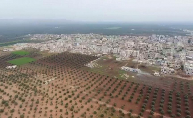 Cinderes, YPG/PKK'nın mayınlarından temizleniyor