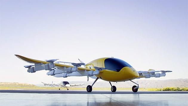 Google'ın kurucusundan 'uçan taksi' için büyük adım